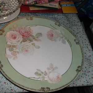 vintage hand painted r s germany plate